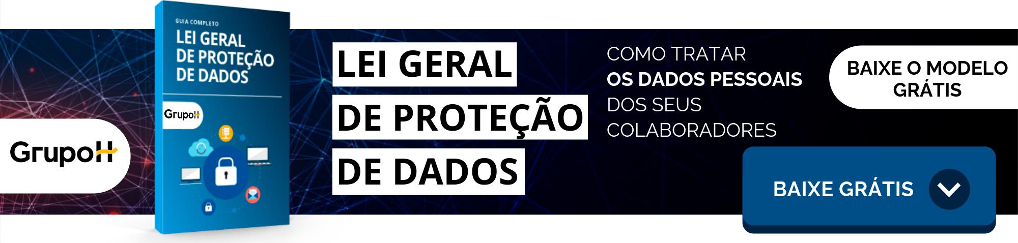 imagem de capa para chamada de download de ebook - guia LGPD