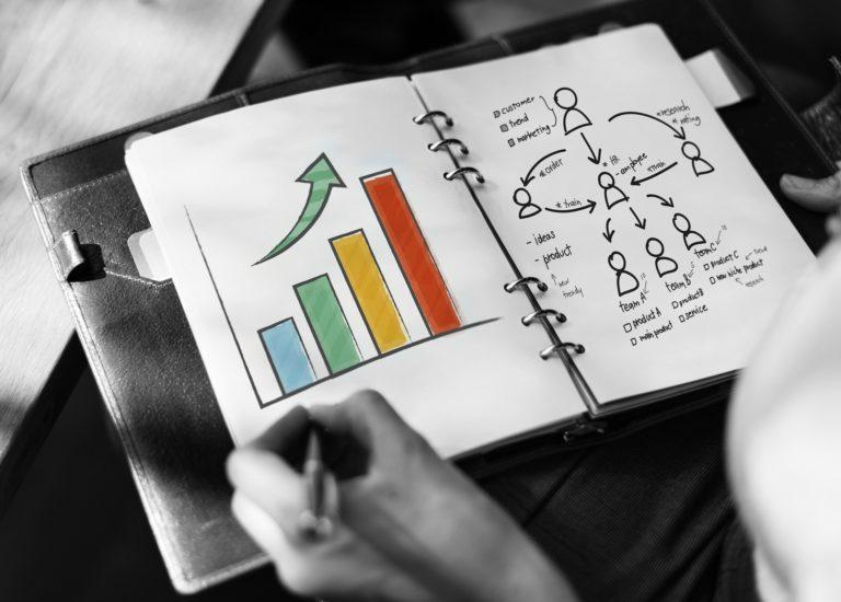 foto de pessoa fazendo e planejando a cultura organizacional de sua empresa