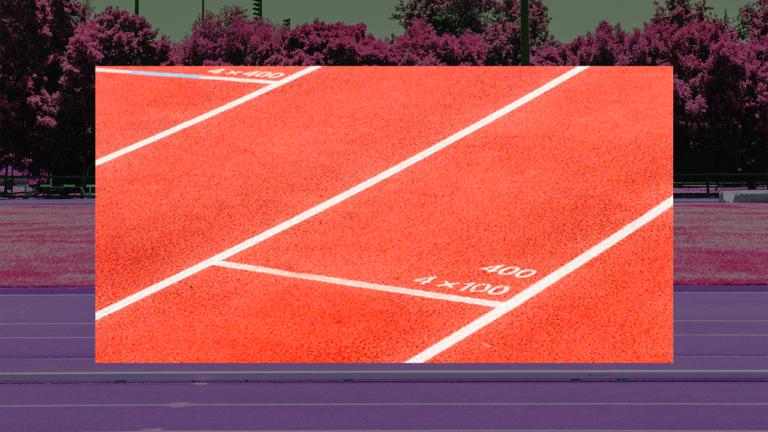 imagem capa blog com uma pista de corrida representando a sua saída do cheque especial