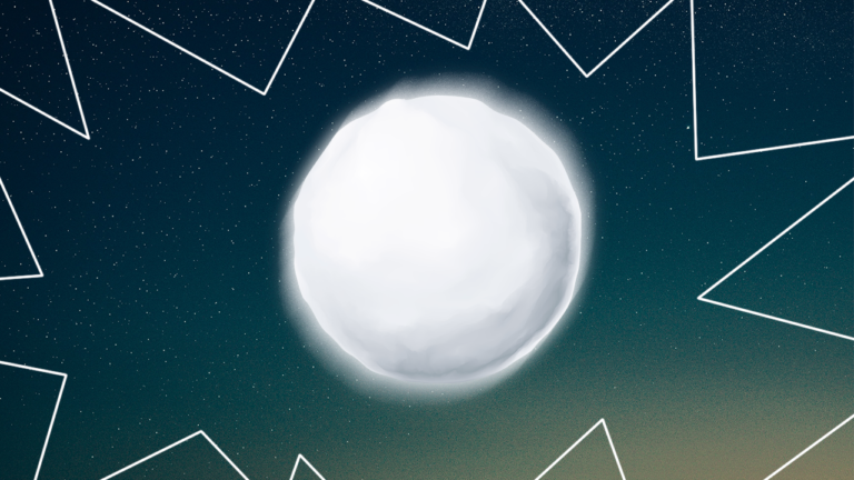 imagem capa de blog com uma bola de neve representando as dívidas acumuladas